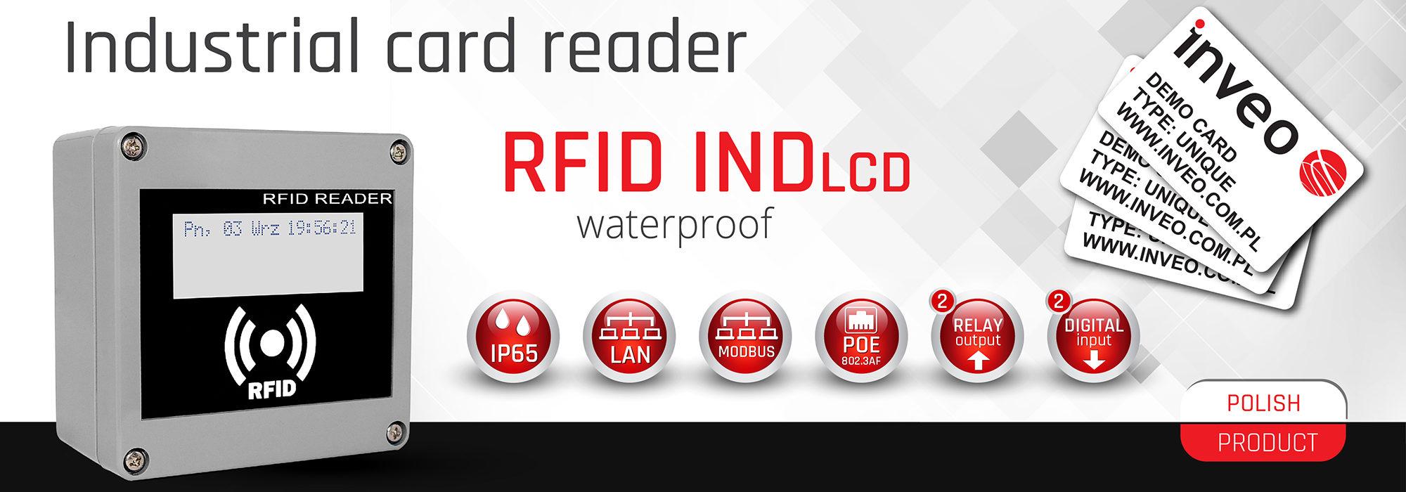 RFID IND LCD
