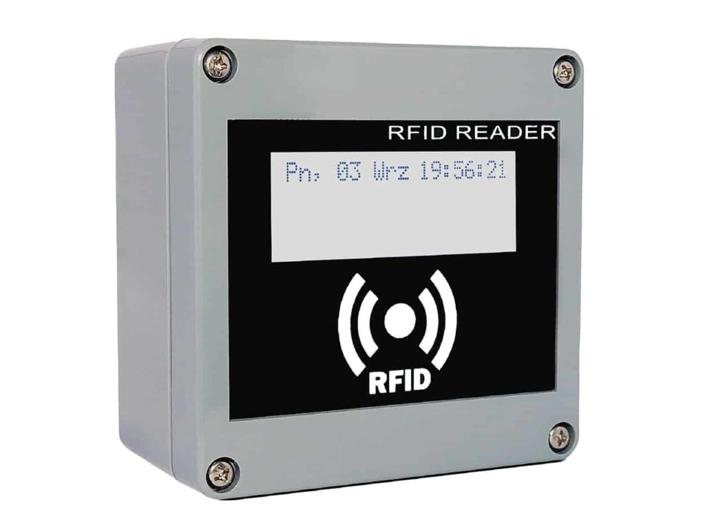 RFID IND LCD
