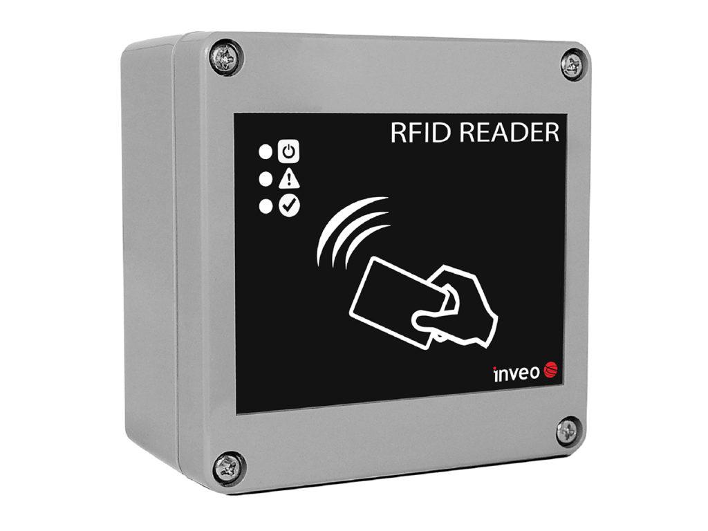 Wodoodporny czytnik RFID