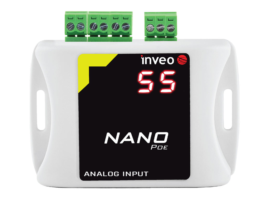 Analog Input LAN