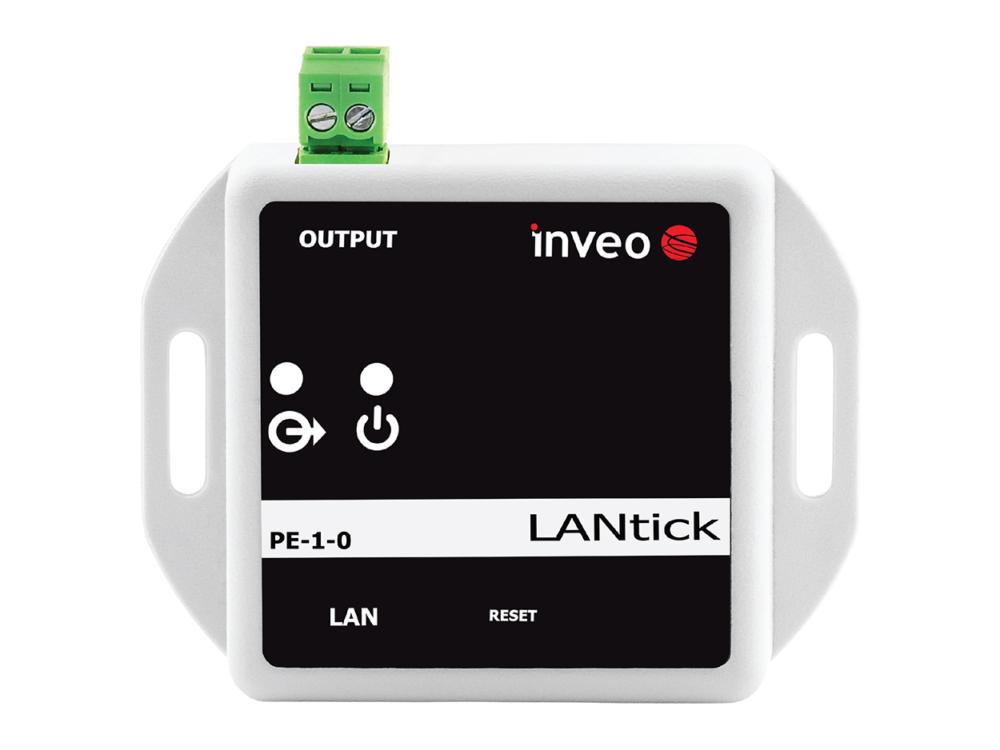Lantick-1-0 - LAN relay output
