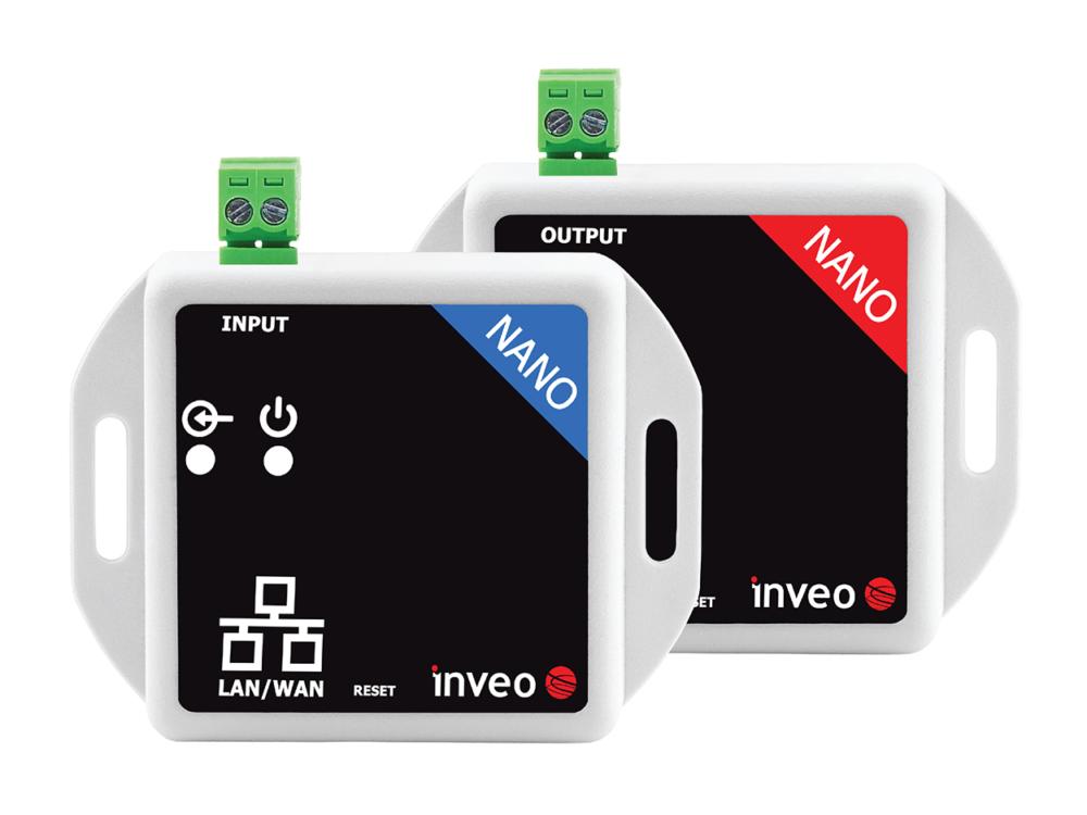 Nano InOut - przekaźnik przez sieć LAN