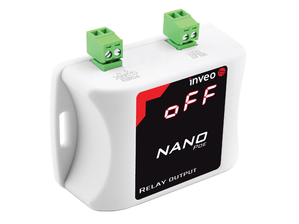 Nano Relay Output PoE